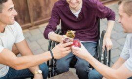 Trotz Handicap Barrieren überwinden